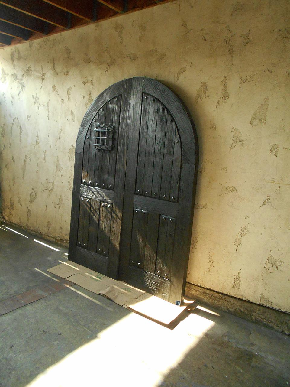 Large Wood Front Door