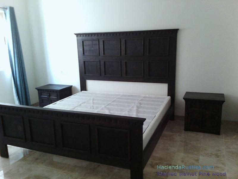 Spanish-Bed-Walnut-Stain