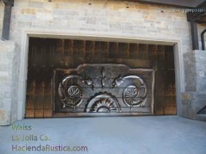 Upper-Carving-Garage-door